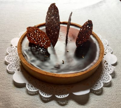 Torta al cioccolato amaro