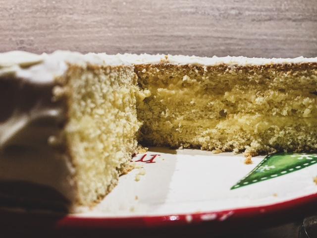 Una torta alla crema